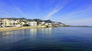 Sitges à peine 43 kilomètres de Barcelone en Espagne